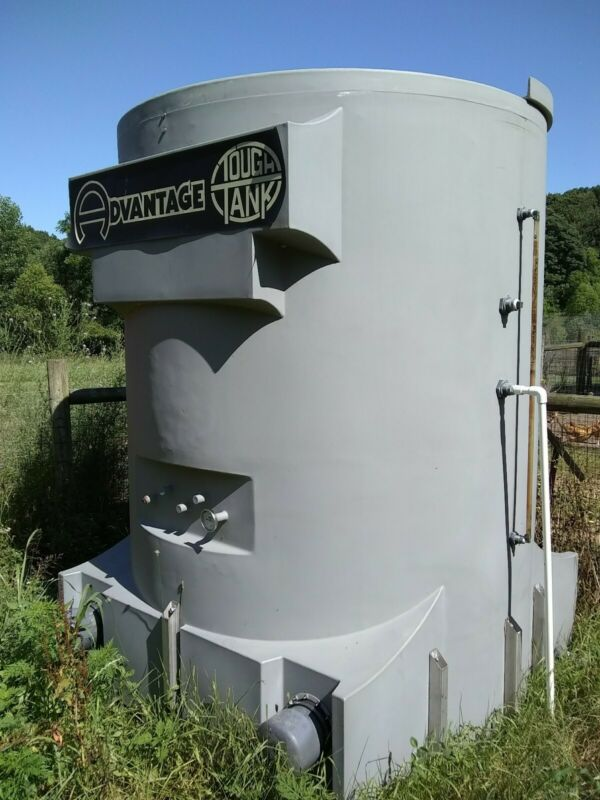 Water holding tank deer blind project Advantage Tough Tank