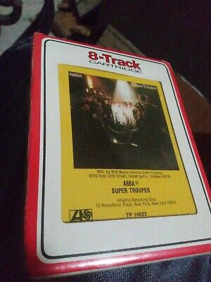 ABBA ‎– Super Trouper  8 Track Tape SEALED