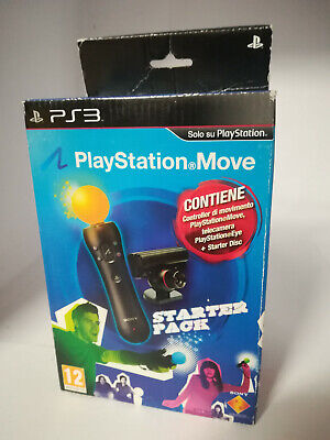 Playstation Move + Webcam Starter Pack Playstation 3 PS3 PS4 - NUOVO...