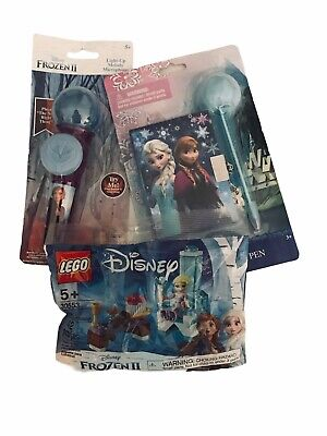 Frozen Gift Set - Frozen 2 Microphone, Lockable Journal & Pen, Elsa Throne LEGO