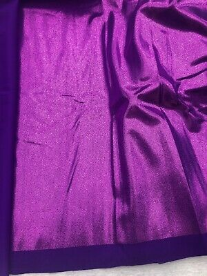 HOLOGRAMMSTOFF GLITZERSTOFF elastischer Stoff glitzer GLITTER lila rosa