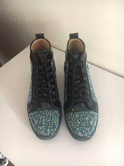 Christian Louboutin strass sneakers