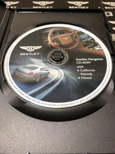 Bentley Satellite Navigation CD ROM DVD Rom California NV Hawaii 3W0919884H