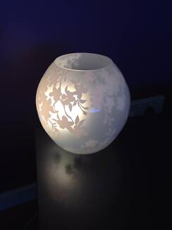 Ikea Table Bedroom Lamp Frosted White Glass Currambine Joondalup Area Preview