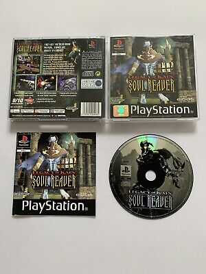 Legacy Of Kain Soul Reaver - Black Label - PlayStation 1 PS1 - Free P+P