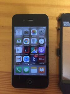 16GB iPhone 4S with otterbox and 2 chargers