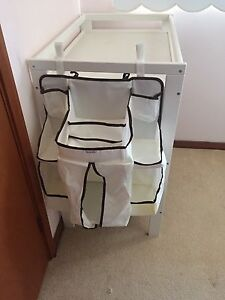 Baby changing table with hanging organiser Mount Colah Hornsby Area Preview