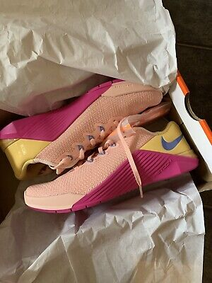 Brand new Nike Metcon 5 womens UK Size 6, Washed Coral lot Crossfit RRP £114.95