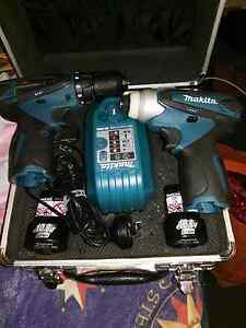 Makita 10.8v Cordless Combo with hard case Blacktown Blacktown Area Preview