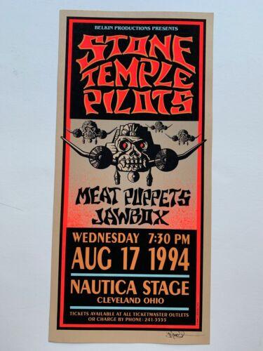 Stone Temple Pilots Original 1994 Concert Poster- Cleveland by Mark Arminski
