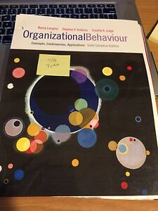 Organizational Behaviour 6th Ed
