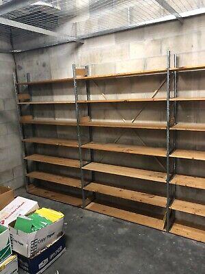 Backroom Lozier S Shelving Solutions - Full Upright And Shelves Combo Starter