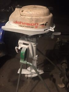 Johnson 3 hp outboard