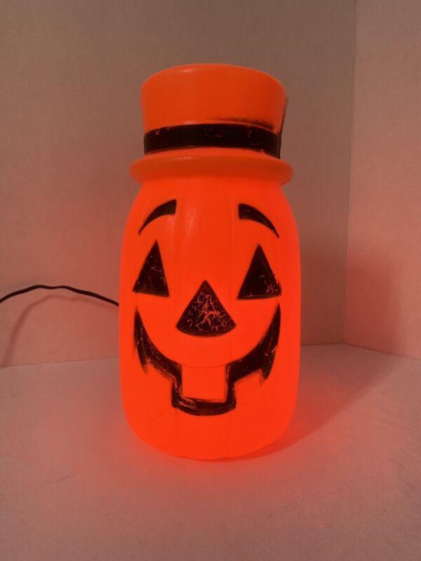 Vintage Plastic Halloween Jack O