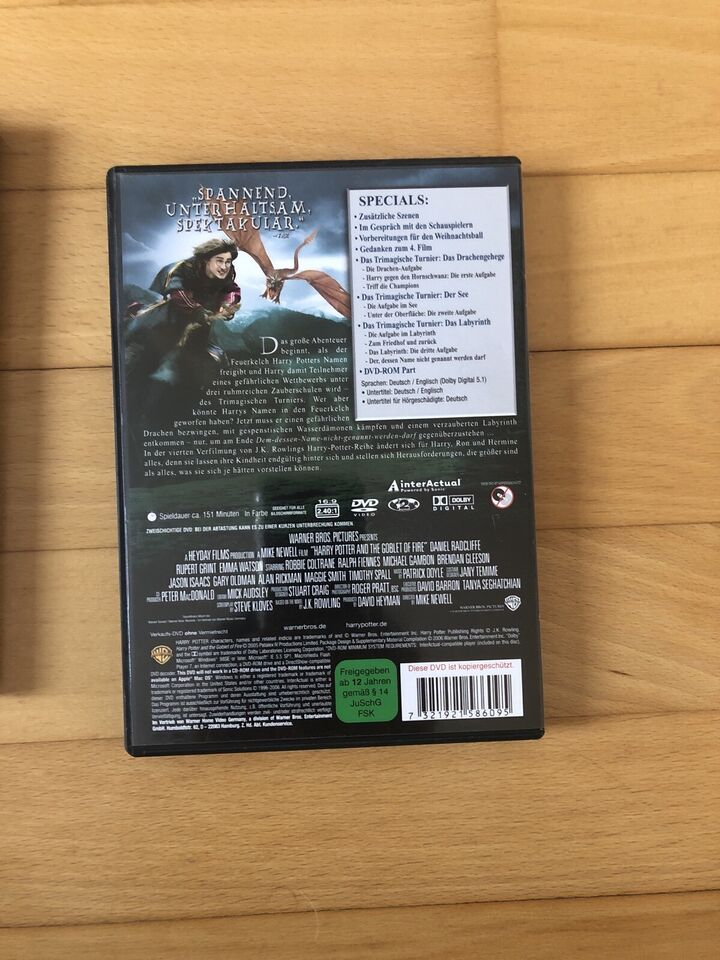 Harry Potter DVD in Knittelsheim
