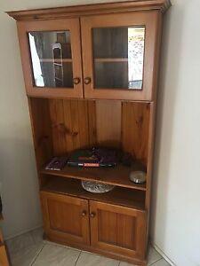 Corner display cabinet Rosemeadow Campbelltown Area Preview