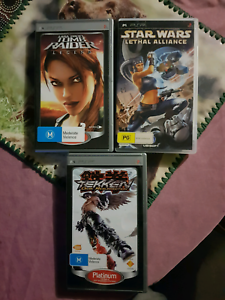psp games in good condition. Rokeby Clarence Area Preview