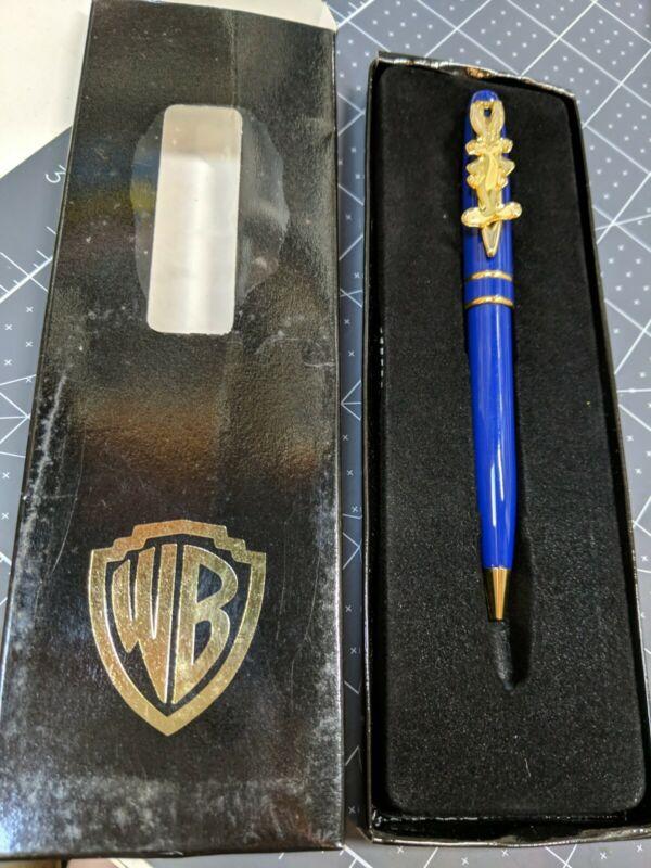 Warner Bros. Studio Store Bugs Bunny Blue/Gold Pen Vintage