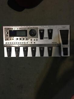 Boss GT-10 effects board