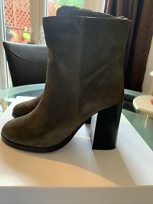 Solea Suede Ankle Boots, Brand New, Size 3 (36)