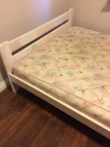 Double mattress with frame free delivery