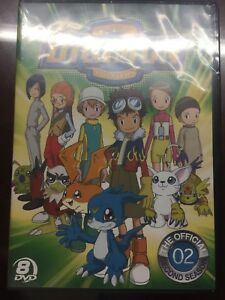 Digimon: The Official Second Season Anime DVD (Sealed)