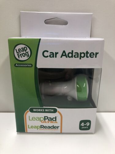 LeapFrog Car Charger Adapter LeapReader LeapPad Ultra 6 Foot
