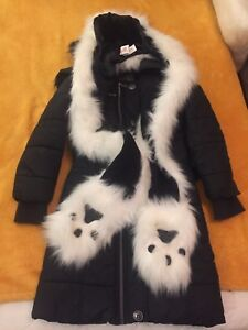 TWO HIGH QUALITY PARKA JACKETS FOR  GIRLS