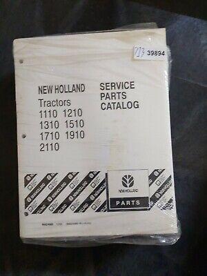 New Holland Tractors 1110 1210 1310 1510 1710 1910 2110 Service Parts Catalog