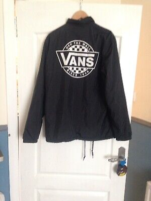 Mens Vans Jacket,  Size Large Very good condition, only worn a few times