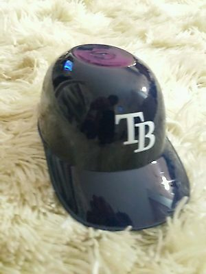 MLB TAMPA BAY RAYS MINI BATTING HELMET DECORATION