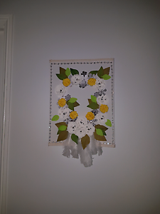 Beautifully decorated dream catcher on canvas Loganholme Logan Area Preview
