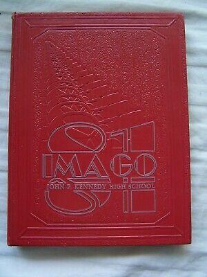1981 J. F. KENNEDY HIGH SCHOOL YEARBOOK SEATTLE, WASHINGTON  IMAGO