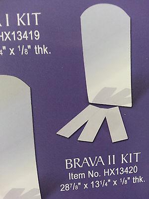 Mirror Shelves Kit for Brava II Henta Wall Niche DIY Cabinet