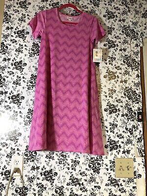 NWT LulaRoe Xxs Jessie Dress W Pockets Pinks - Valentines Day Dress