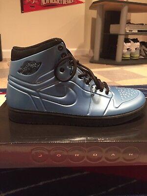 2b7a0cccab284 New Nike Air Jordan AJ 1 Anodized Foamposite Altitude Blue