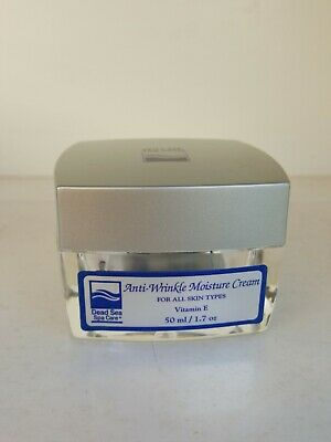 Anti-Wrinkle 1.7-ounce Moisture Cream Dead Sea Spa Care NIB Dead Sea Spa Care