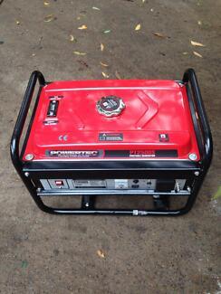 Powertec PT2500 portable generator Tinbeerwah Noosa Area Preview
