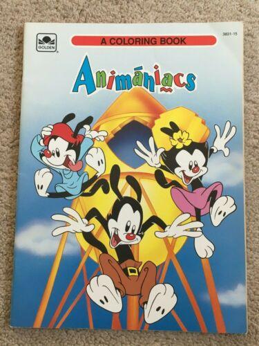 VTG RARE GOLDEN ANIMANIACS COLORING BOOK 1994 SPECIAL EDITION