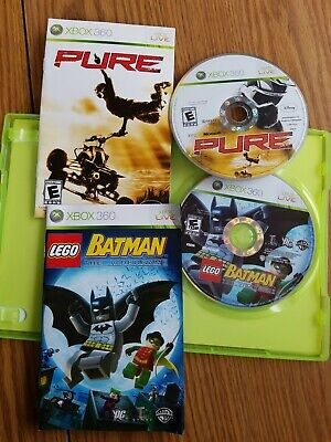 Xbox 360 games Lego Batman And Pure