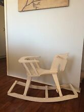Ornamental shabby chic decor rocking horse. Campbelltown Campbelltown Area Preview