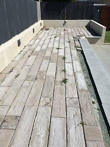 Timber Stone Concrete Pavers - Driftwood Lawnton Pine Rivers Area Preview