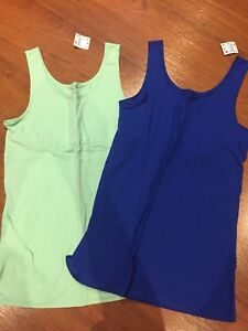 Brand new with tags Justice tanks size 18