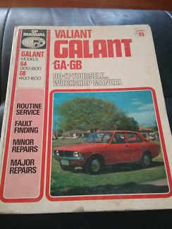 Valiant Galant GA-GB DIY workshop manual.