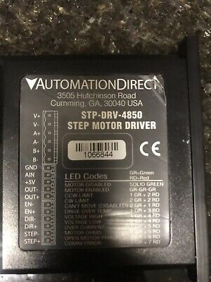 Automation Direct Stp-drv-4850 Stpdrv4850 Used Tested Cleaned