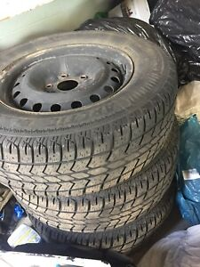 Dodge Journey winter tires WITH RIMS