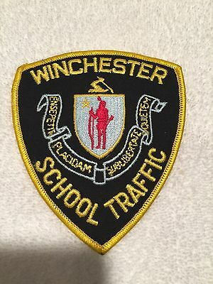 Winchester School Traffic  Patch  P 105