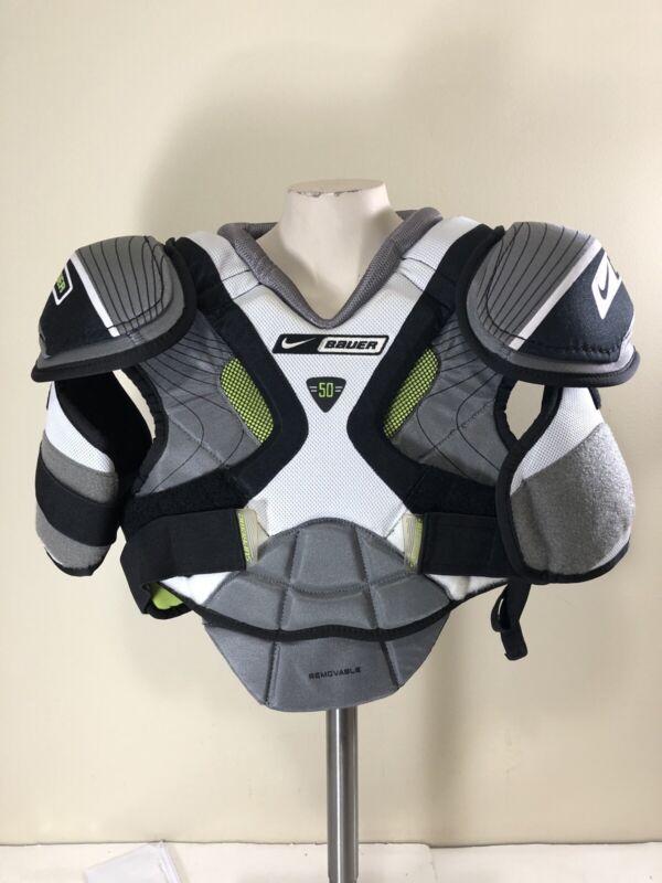 Nike Bauer Supreme 50 Shoulder Pads SR L Large NEW OLD STOCK