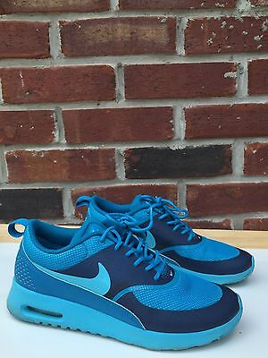 NIKE AIR MAX Thea 599409-406 Clearwater Light Blue Lacquer Woman's 7 * RARE!