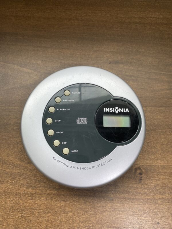 INSIGNIA IS-PA040722 Portable CD Player, 60 Sec. Skip Protection Please READ